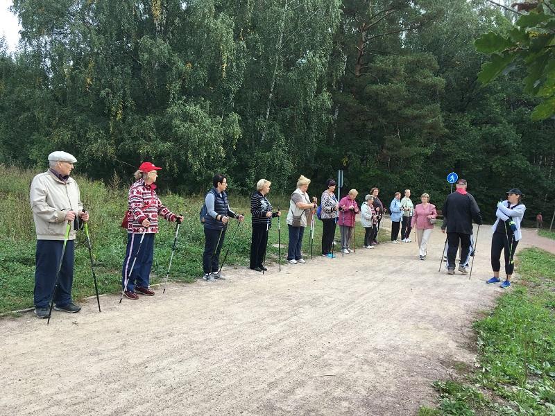 ТЦСО Чертаново Северное скандинавская ходьба