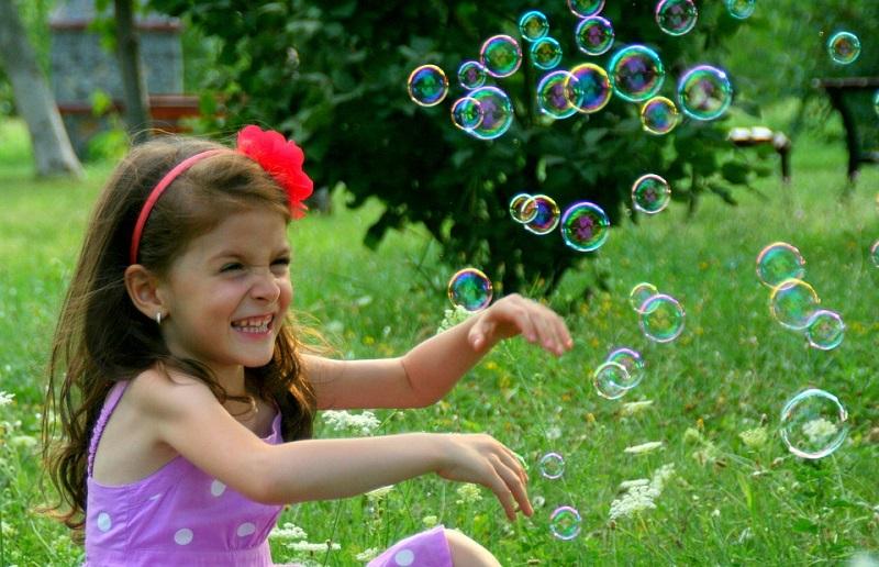 Мыльные пузыри День открытых дверей в МКЦ