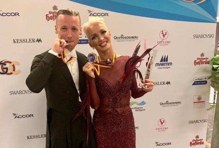 Оксана Скрипник и Дмитрий Воробьев на Открытом Чемпионате Германии